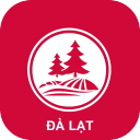 Da Lat App - Da Lat Guide App Icon Footer