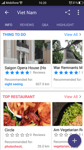 Da Lat Guide App Screenshot