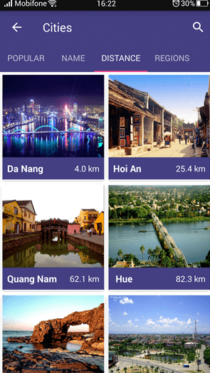 inVietnam App Screenshot
