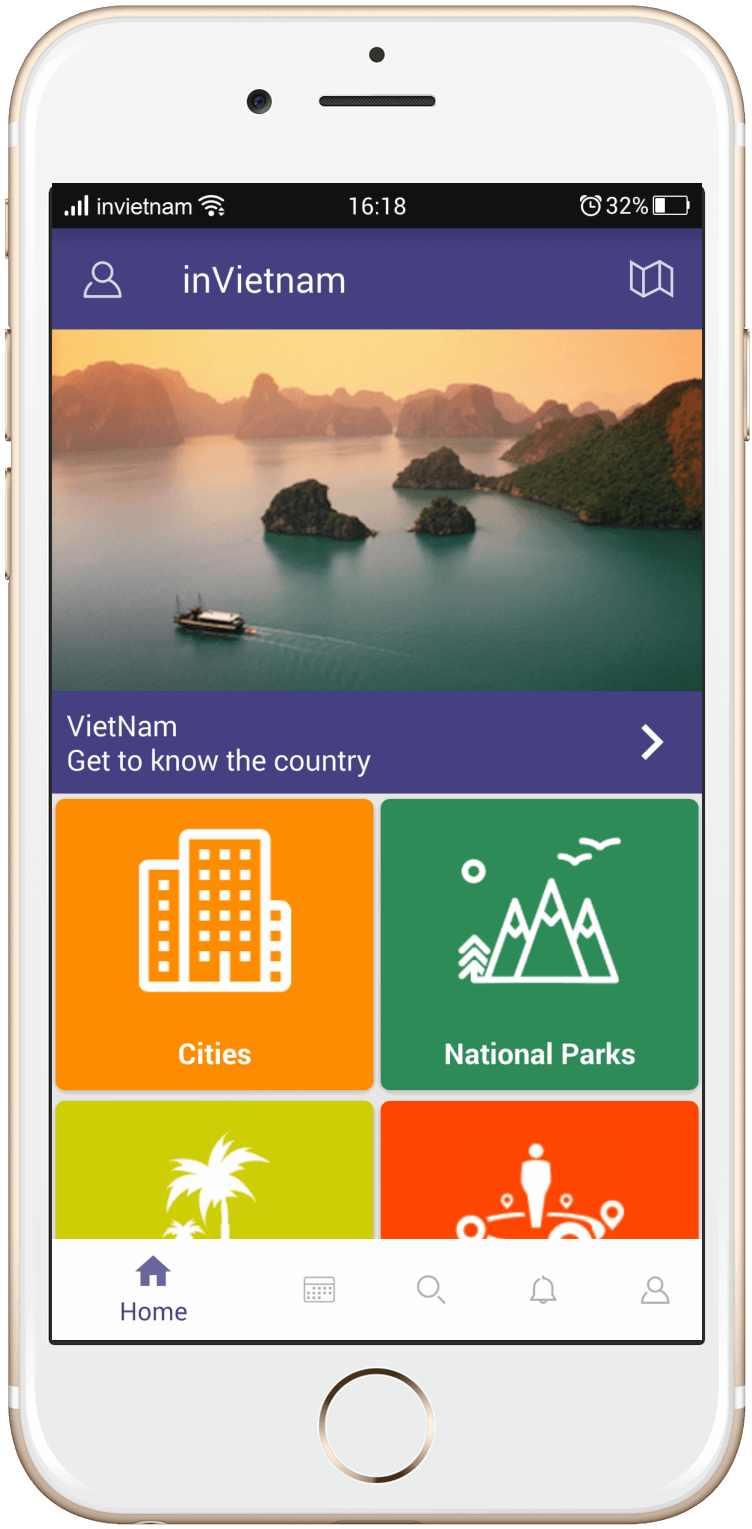 inVietnam App - Viet Nam Travel Guide App
