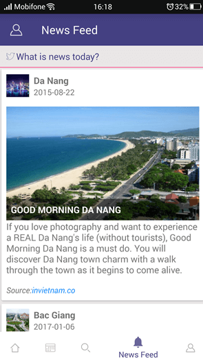 Ninh Binh Guide App Screenshot
